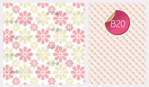 PRE-ORDER Sugar Stamp Sheet - B20