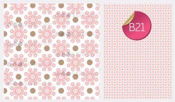Sugar Stamp Sheet - B21