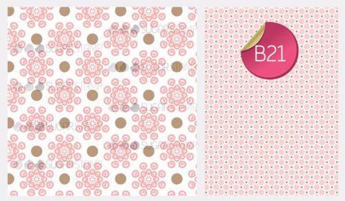PRE-ORDER Sugar Stamp Sheet - B21