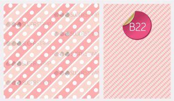 Sugar Stamp Sheet - B22