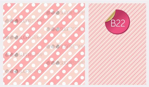 PRE-ORDER Sugar Stamp Sheet - B22