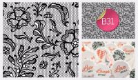 Sugar Stamp Sheet - B31