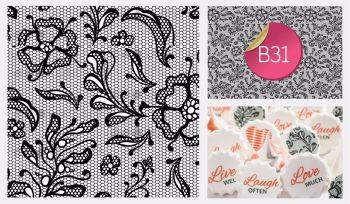 Sugar Stamp Sheet - B31
