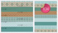Sugar Stamp Sheet - B34