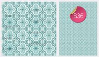 Sugar Stamp Sheet - B36