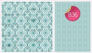 Sugar Stamp Sheet - B36