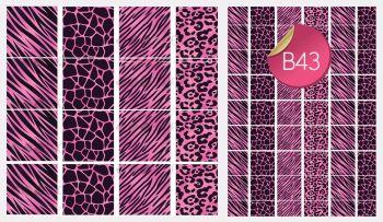 Sugar Stamp Sheet - B43