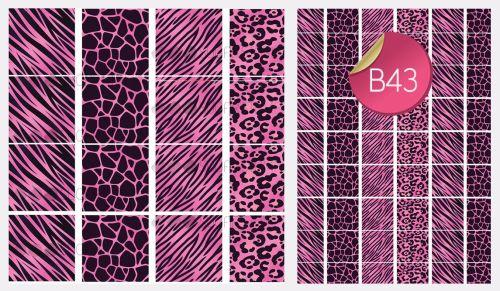 PRE-ORDER Sugar Stamp Sheet - B43