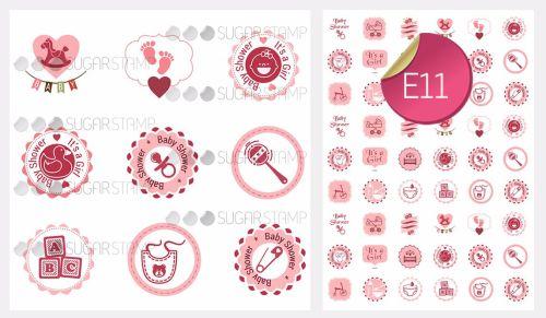 PRE-ORDER Sugar Stamp Sheet - E11