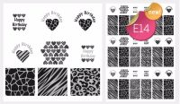 Sugar Stamp Sheet - E14