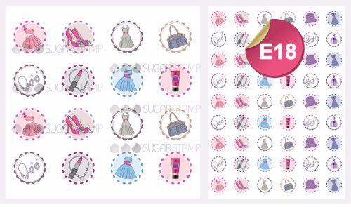 PRE-ORDER Sugar Stamp Sheet - E18