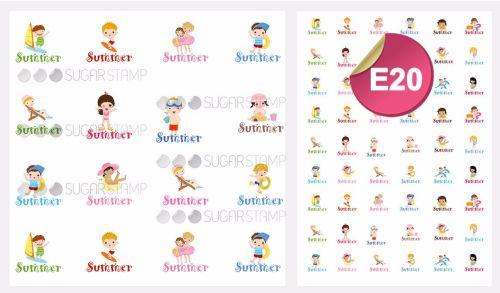 PRE-ORDER Sugar Stamp Sheet - E20