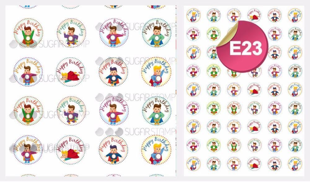 PRE-ORDER Sugar Stamp Sheet - E23
