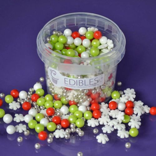 Edibles Mix - Christmas Snowflake