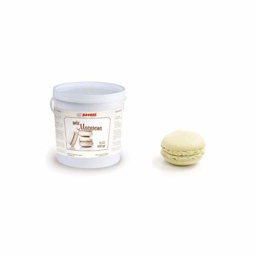 Edible Pavoni Macaron Mix White 500g