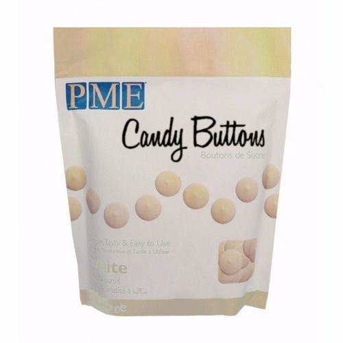 White VANILLA Candy Buttons