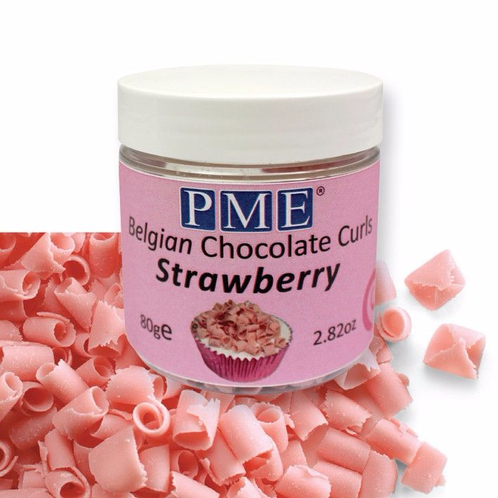 Curls Strawberry Chocolate 85g