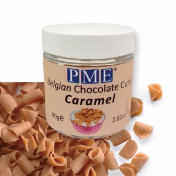 Curls Caramel Chocolate 85g