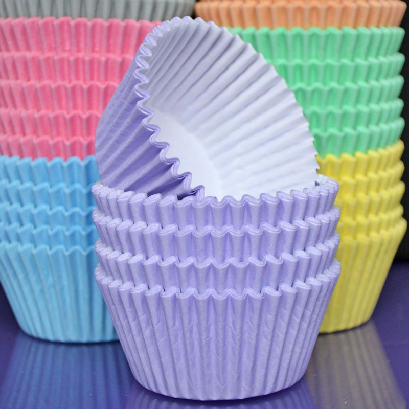 Cupcake Cases - Pastel Lilac