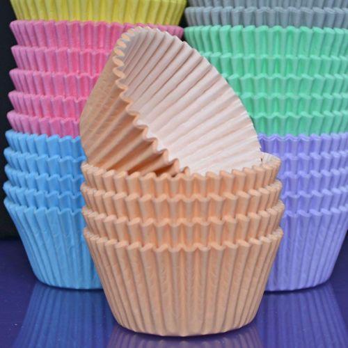 Cupcake Cases - Pastel Peach