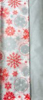 Tissue Paper Pack - Snowflake/Silver 10 Sheets 50cm x 70cm