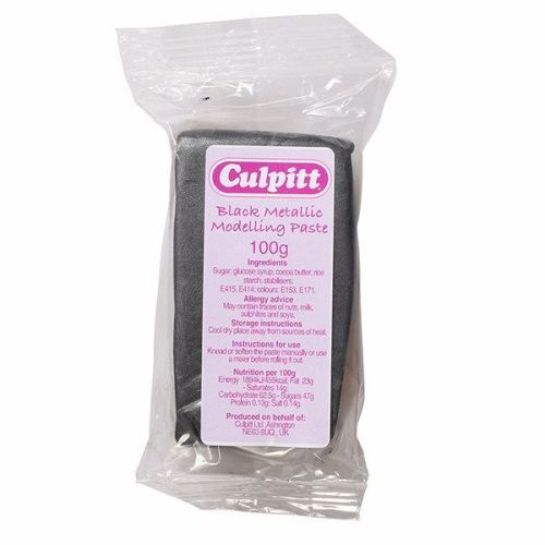 Culpitt Modelling Paste Black - 100g