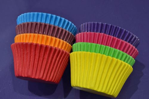 Cupcake Cases x 96 - Bright Colours