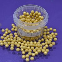 Large Sugar Pearls 7mm - Pearl Gold