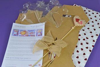 Cupcake Bouquet Box - Valentines's Day Kit 2