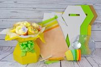 Kit - Cupcake Bouquet Box - Easter Kit