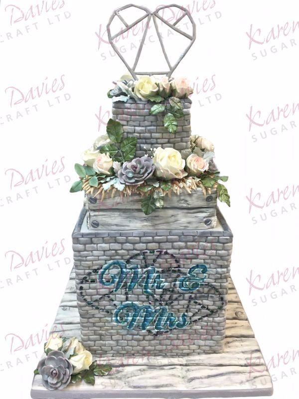 Karen Davies Rustic Brickwork by Alice Mould
