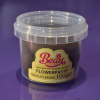 Flower Paste - Brown Chocolate  100g