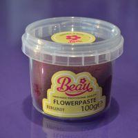 Flower Paste - Burgundy 100g