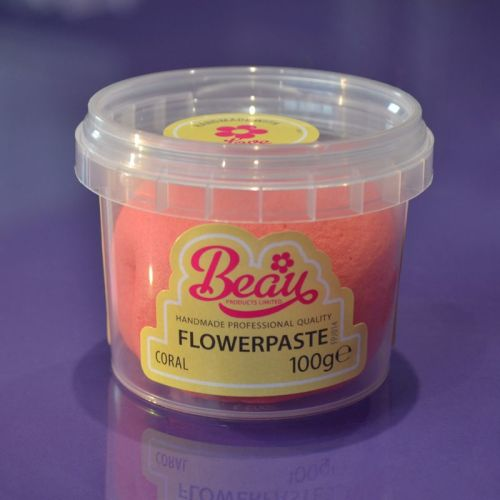 Flower Paste - Coral 100g