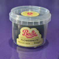 Flower Paste - Green Holly 100g
