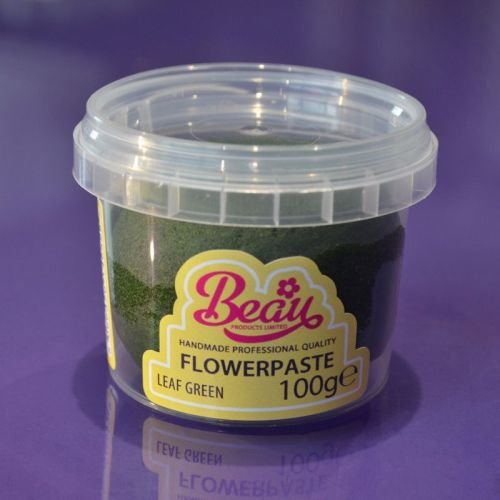 Flower Paste - Green Leaf 100g