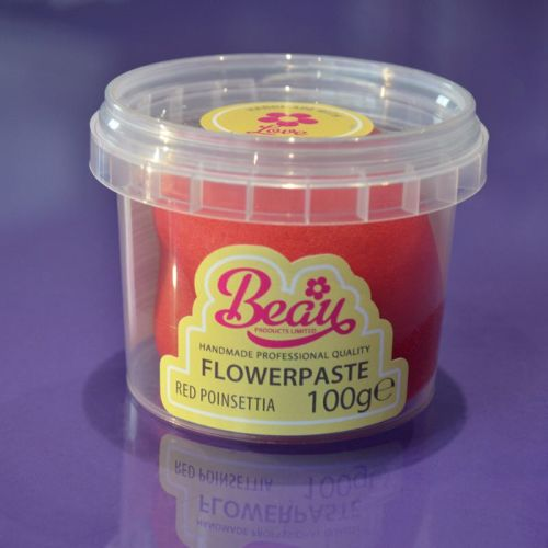 Flower Paste - Red Poinsettia 100g