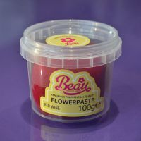 Flower Paste - Red Wine 100g