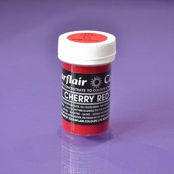 Paste Colours 25g - Pastel Cherry Red