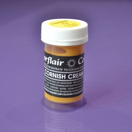 Paste Colours 25g - Pastel Cornish Cream