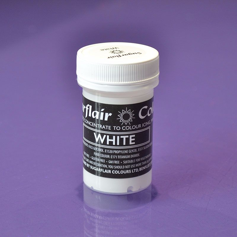 Paste Colours 25g - White