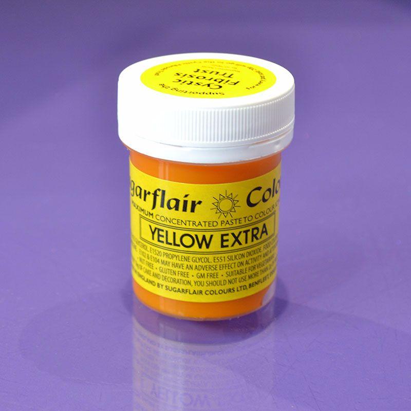 Sugarflair Yellow Extra 42g