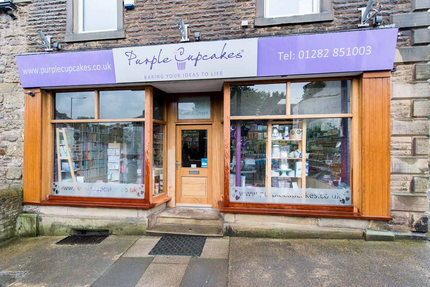 Purple Cupcakes Cake Decorating Shop, Lancashire