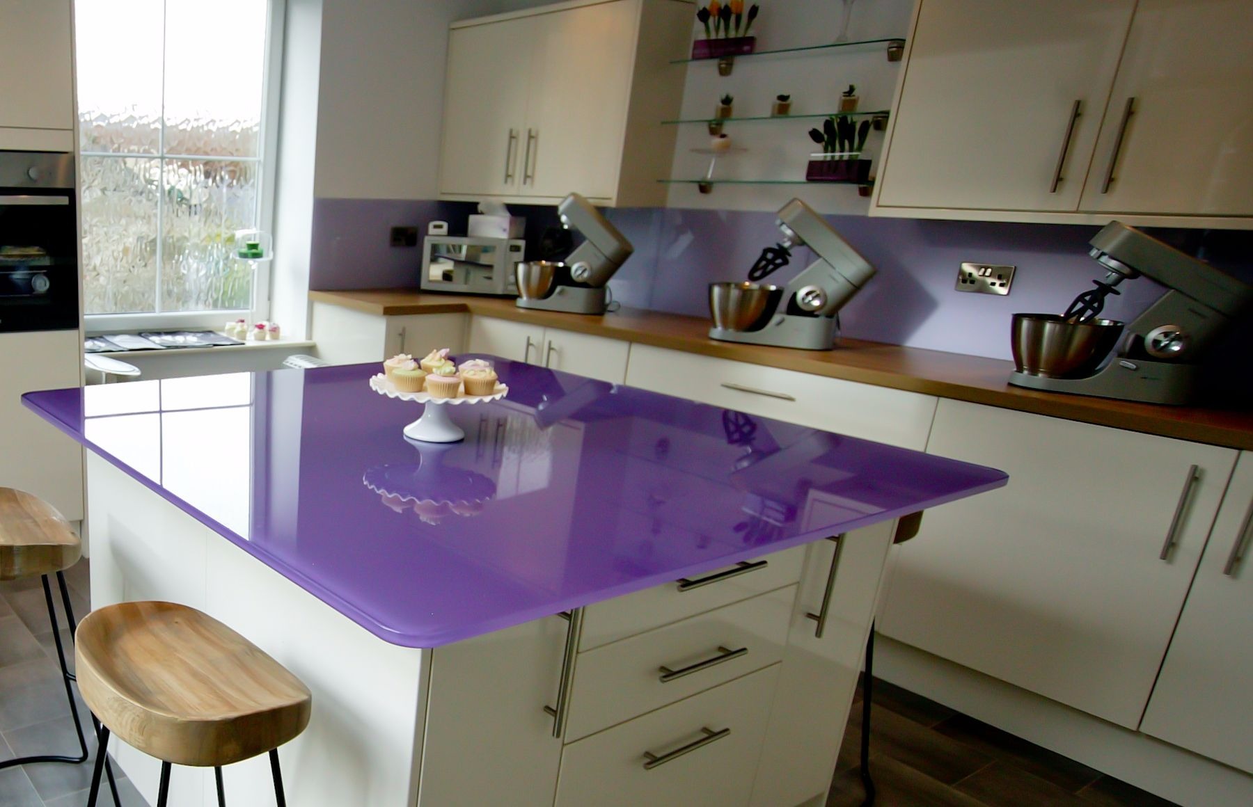 Purple Cupcakes Class Studio, Lancashire UK