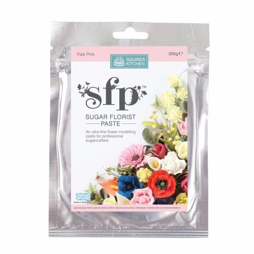 Florist Paste Squires  200g PALE PINK