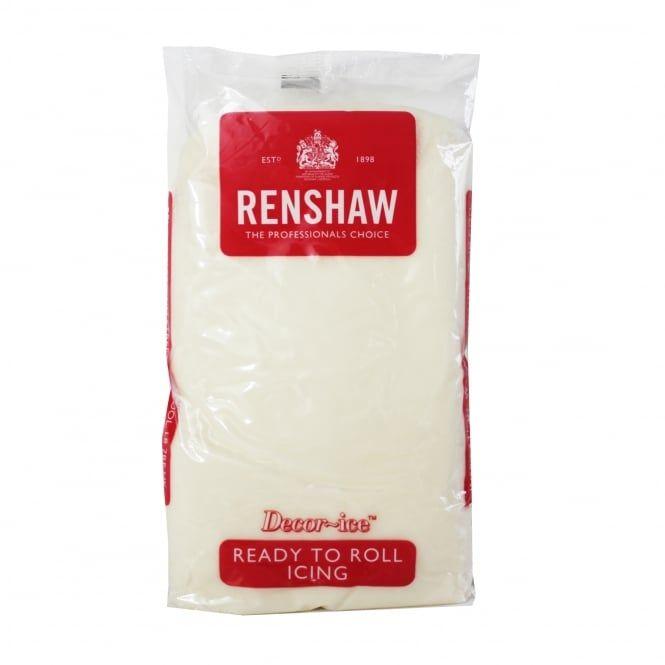 Sugarpaste 1kg Celebration Cream - Renshaw Decor Ice Ready to Roll (BBE Jan