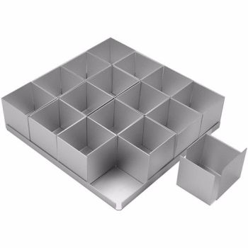 "Mini SQUARE Cake Tin Set x 16 (2"" Multi Tin Set)"