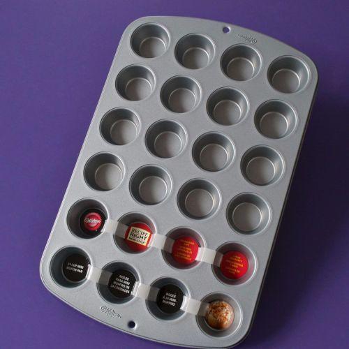 24 Cup Mini Cupcake Tray by Wilton