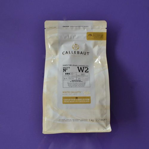 Callebaut 1kg Bags - White