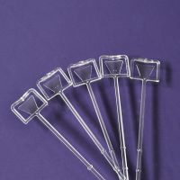 Cupcake Bouquet Accessories - Clear Card Holder (Pack 5)